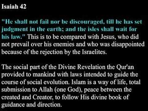 Prophet Mohammad (pbuh): The fulfilled Prophecy of the Bible