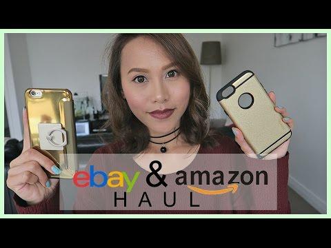 AMAZON & EBAY HAUL (PHONE ACCESSORIES) | rhaze
