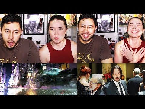 JOHN WICK CHAPTER 2 Trailer Reaction by Jaby & Achara!