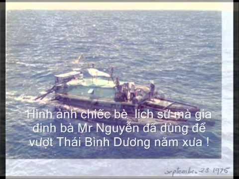 Vượt Biển tìm tự do BẰNG BÈ  của GĐ bà Mary Nguyễn ..wmv