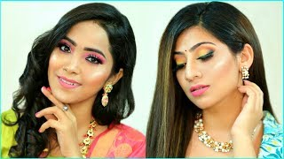 MUST Try Festive LOOK - RAKHI Special HAIRSTYLE & MAKEUP |  #Beauty #Tutorial #Fun #Anaysa