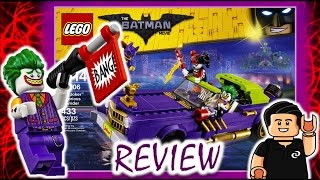 LEGO Batman Movie The Joker Notorious Lowrider Set 70906 Review