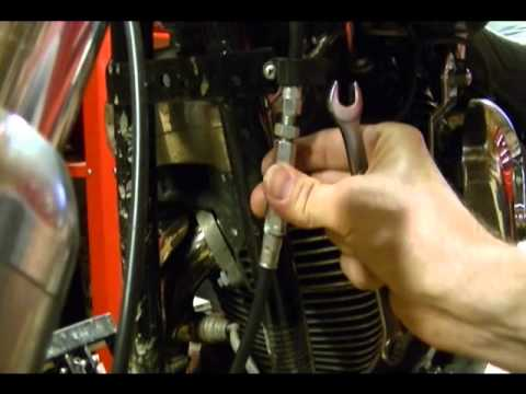 How to Adjust the Clutch Cable on a Harley Davidson Motorcycle