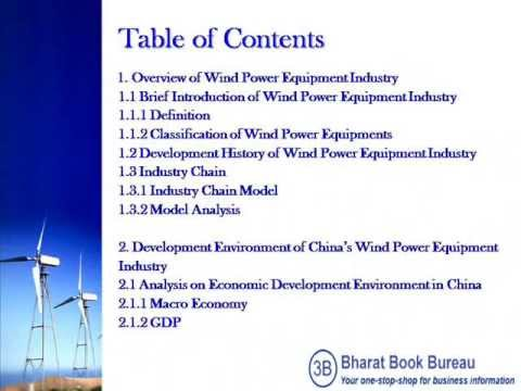 Bharat Book Presents : Research and Development Trend of China's Wind Power Equipment