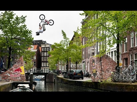 BMX Backflip over Amsterdam Canal - Red Bull Framed Reactions - TEASER