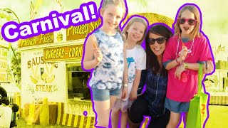 Fun at School Carnival with my Nieces, Addy and Maya!