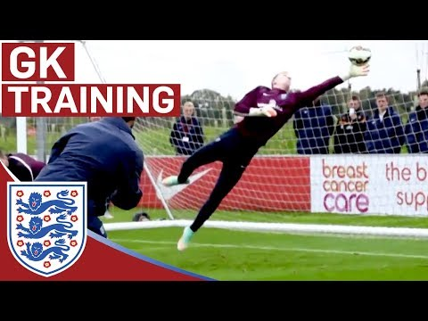 Joe Hart & goalie reactions training | Inside Training