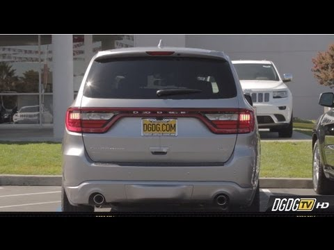 2014 Dodge Durango Test Drive Review | Off The Lot