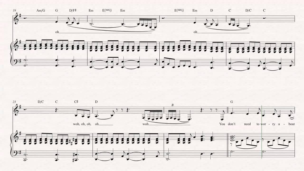 Tenor Sax - Tattooed Heart - Ariana Grande Sheet Music