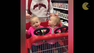 Adorable twin babies compilation