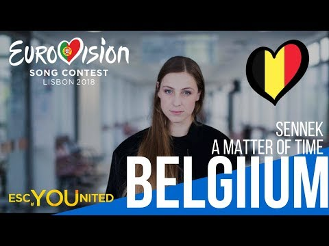 Belgium: Sennek - A Matter of Time (Reaction) Eurovision 2018