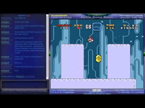 Super Mario All-Stars  Super Mario World - Netplay Session - Super Mario World (All Stars Version) - 96 Exits Playthrough - Part 1 - User video