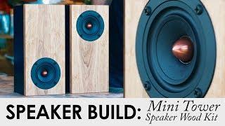 Mini Tower Speaker Kit   DIY Speaker Kit Build