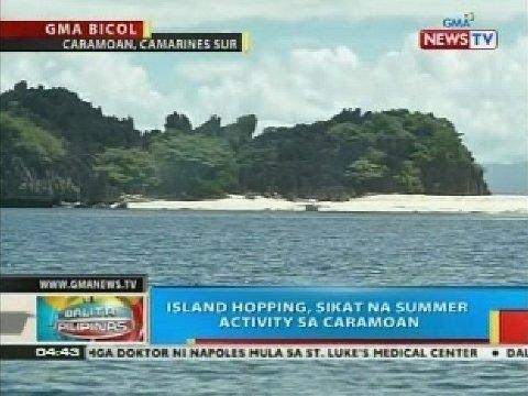 BP: Island hopping, sikat na summer activity sa Caramoan, Camarines Sur