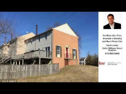 1063 KEPPEL HARBOUR, PASADENA, MD Presented by David Lasley.