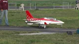 Viper RC turbine jet airplane flying at SCCMAS