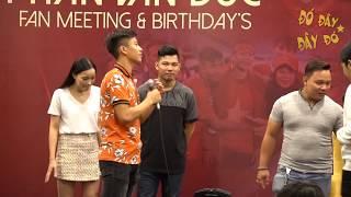 """Văn Đức """"khoe"""" trình tâng bóng với Cris Devil và Đỗ Kim Phúc trong buổi offline sinh nhật"""