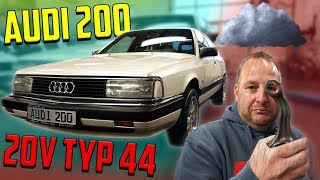 5Zylinder TURBO! - AUDI 200 20V Typ 44 - So fing alles an!