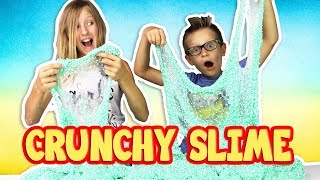 HOW TO MAKE SUPER CRUNCHY SLIME!