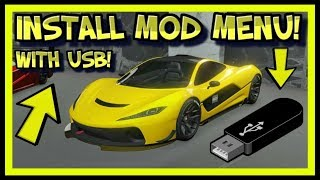 HOW TO INSTALL MODS FOR GTA V ONLINE USING USB ON XBOX 360 & PS3! GTA V MOD MENU TUTORIAL NO JTAG!
