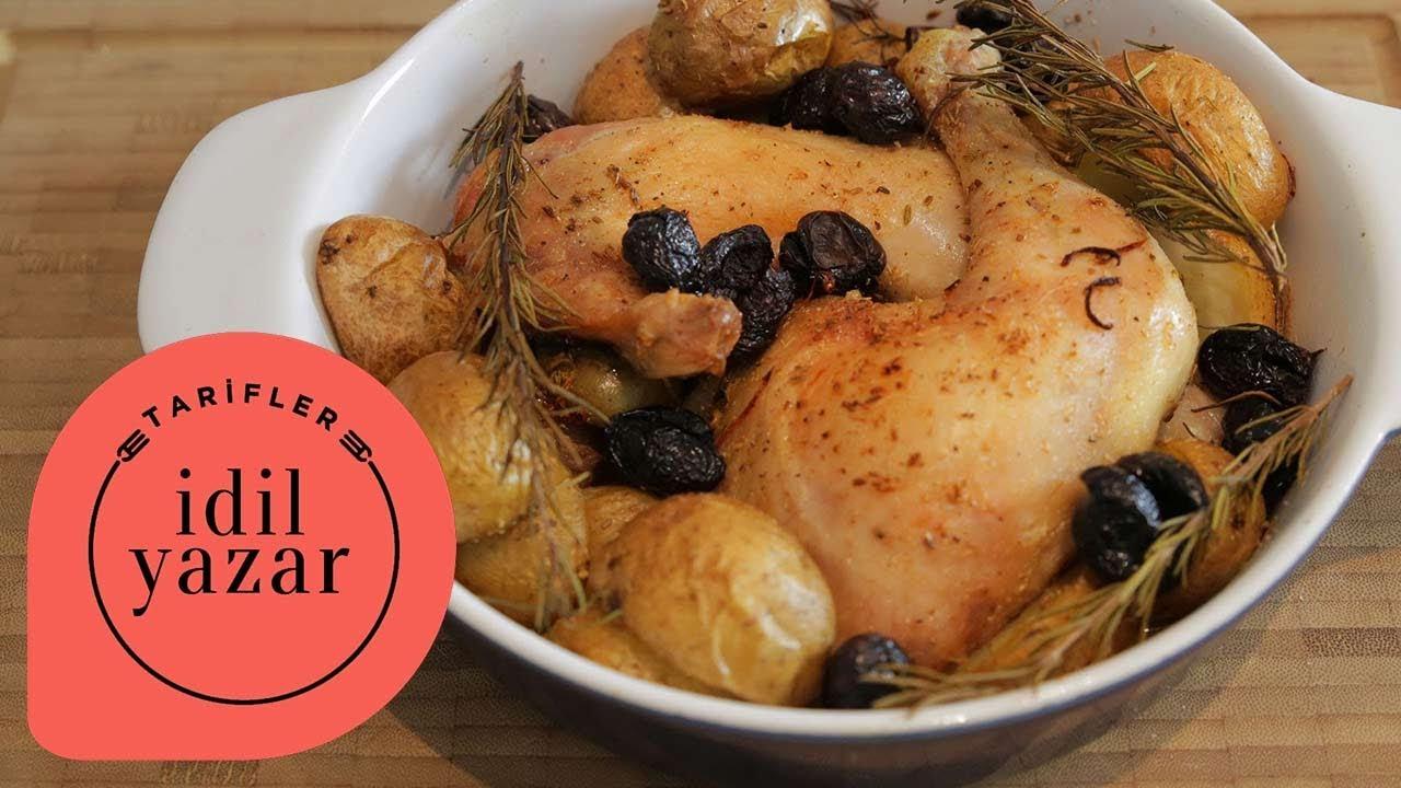 Fırında Akdeniz Usulü Tavuk But - YouTube
