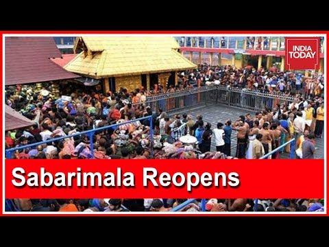 Kerala On Edge As Sabarimala To Reopen For 2 Days Tomorrow