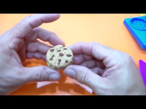 PLAY-DOH COOKIES SWEET CAKE PLASTILINA.PLAY DOH GALLETAS DULCES PASTELES CARAMELOS TARTAS PLASTILINA