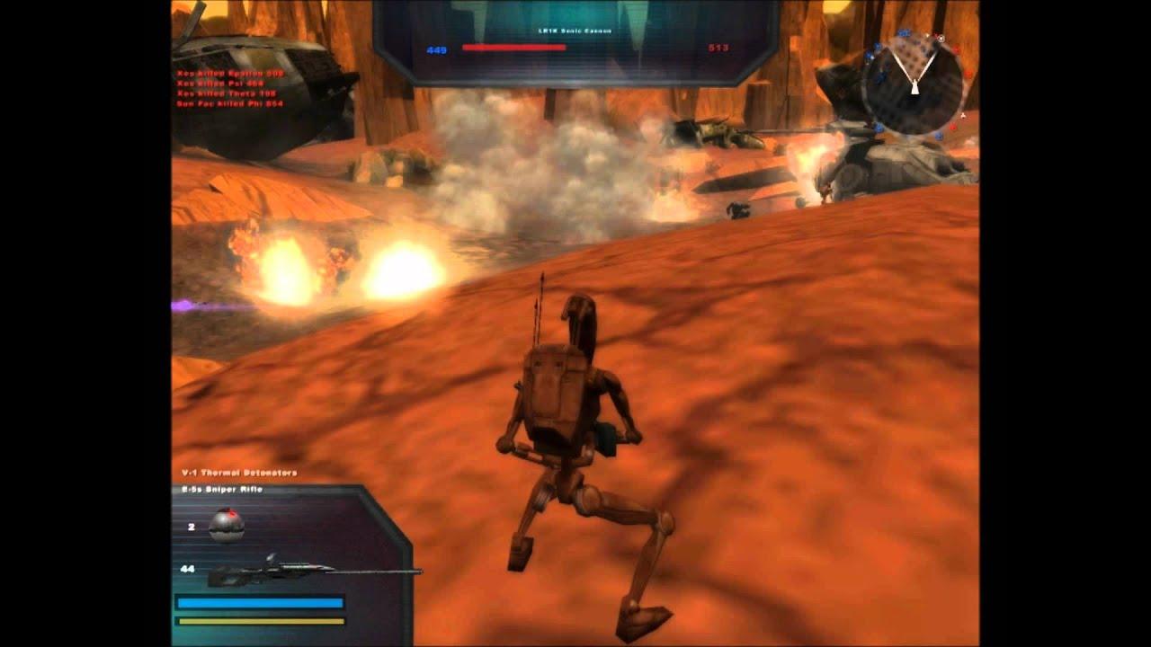 Star Wars Battlefront 2 Mods Maps Video Series Geonosis