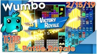 Tetris Battle Royale 1st Place Streaks - Wumbo 135 Wins
