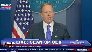 FNN: Sean Spicer's Daily White House Briefing - 2/14/17