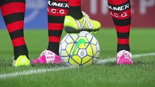Atlético GO x Santos Rodada 30 Brasileirão ML Pes 2017 #PraCimaDelesSantos