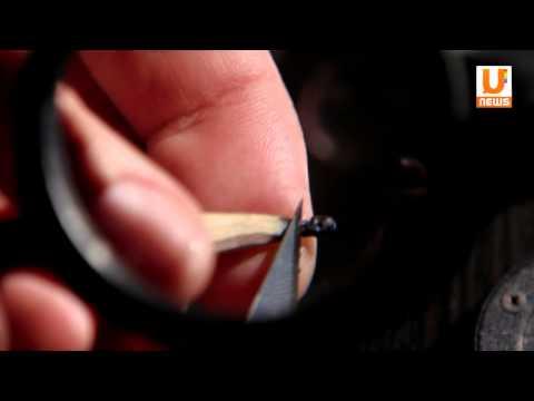 Бывший юрист из Уфы создает миниатюры на кончике обычного карандаша