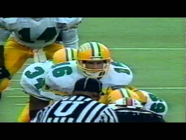 Oregon QB Danny O'Neil scrambles for a 22 yard gain vs. OSU 11-19-1994