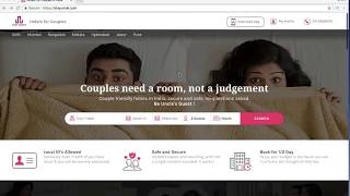 How an unmarried couple can book a StayUncle hotel?