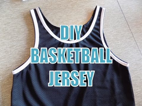 DIY: Basketball Jersey