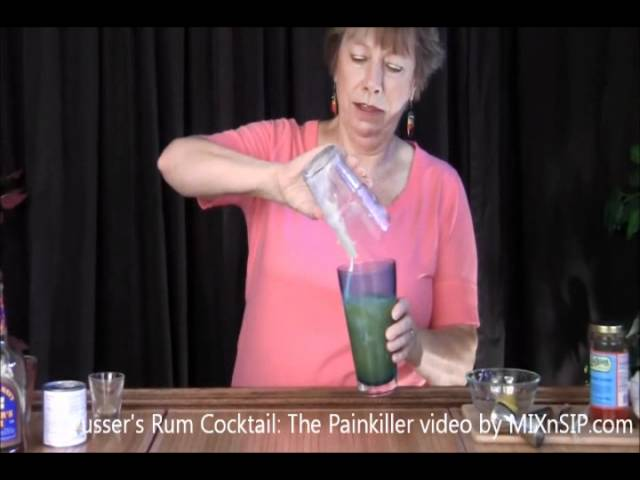 Pusser's Rum Cocktail: The Painkiller