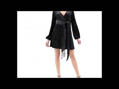AGGI Sukienka Jacquetta czarny