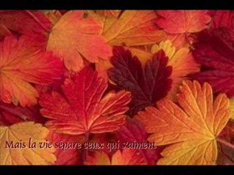 Frank Michael - Les feuilles mortes