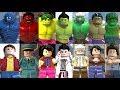 Tous les Hulks dans les jeux vidéo Lego (2013 - 2018)