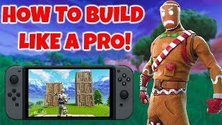 How To Build Faster In Fortnite On Nintendo Switch! (Tips & Tricks)