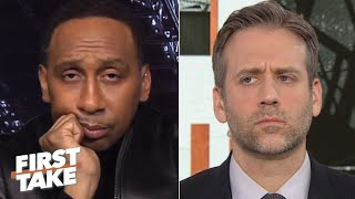 Stephen A. gets bored with Max during a Drew Brees debate | First Take