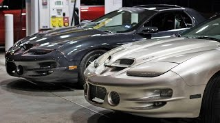 TURBOCHARGED vs SUPERCHARGED Trans Am STREET Battle!