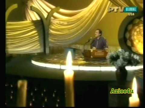 Chupke Chupke Raat Din Aansoo Bahana Yaad Hai (the Great Ustad Ghulam Ali Live) ptv Classics video