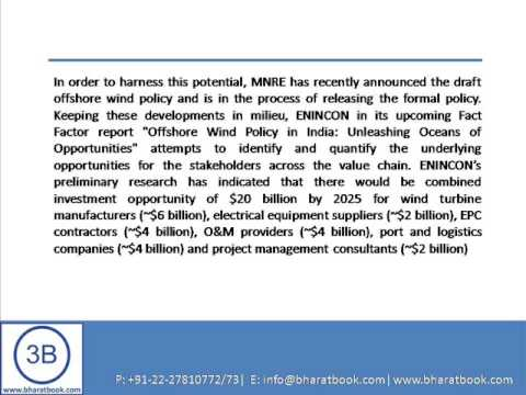 Bharat Book Presents : Off Shore Wind Policy in India Unleashing Oceans of Opportunitie