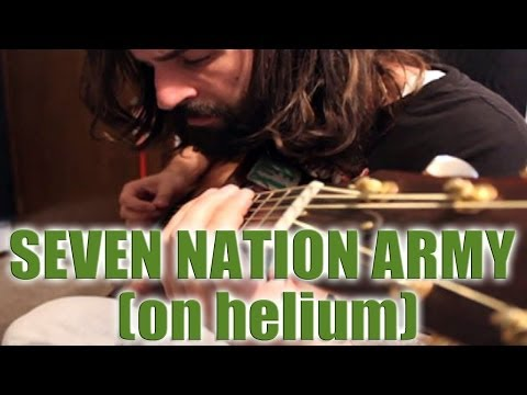 Seven Nation Army ( ON HELIUM ) by Dustin Prinz
