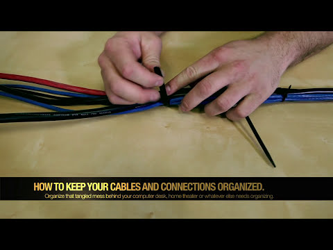 How to manage your cables