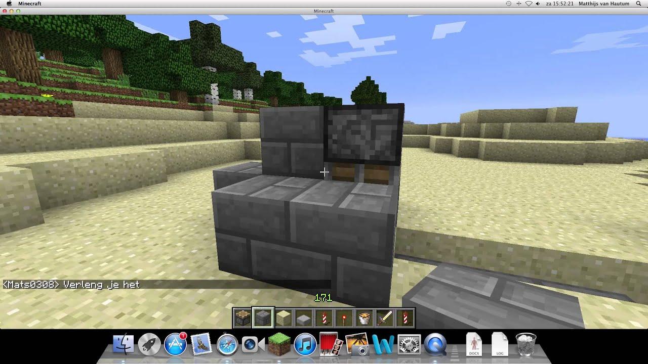 Minecraft hoe maak je een kasteel beveiliging youtube - Hoe maak je een woonkamer ...