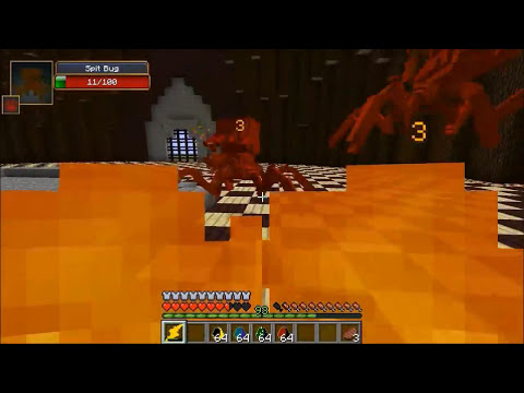 ZEUS VS ALIEN, WTF, & JUMPY BUG - Minecraft Mod Battle - Mob Battles - Greek Craft & OreSpawn Mods