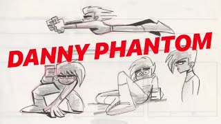 SCRAPPED Danny Phantom Designs [ NEVER BEFORE SEEN ] | Butch Hartman