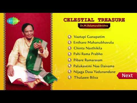 Celestial Treasure | Dr. M Balamuralikrishna | Jukebox